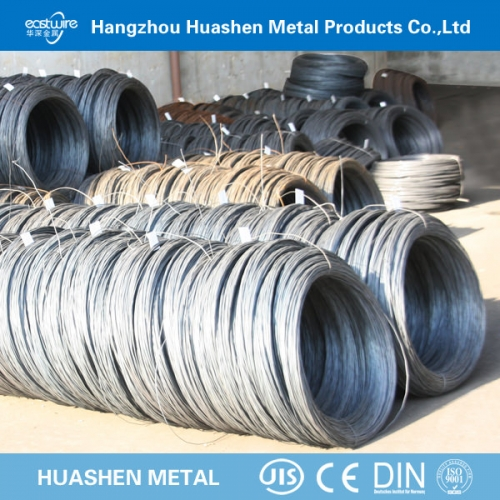 phosphating steel wire for optic cable and redrawing